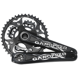 Image 5 - MTB Bike Crankset 172.5mm 175mm Bicycle Crank set 104BCD Chainwheel 32T 36T 38T 42T Narrow Wide Chainring Cycle Track Chainset