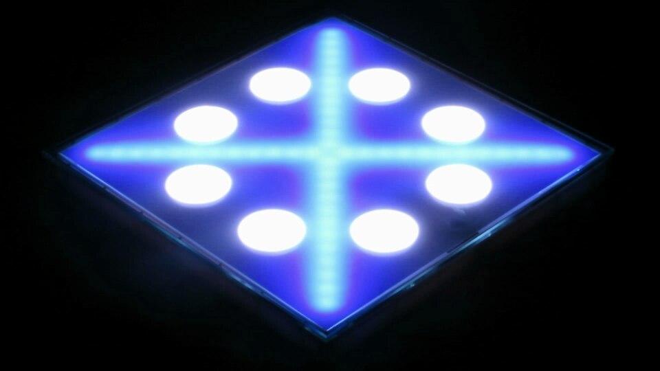 3d mirror led dance floor