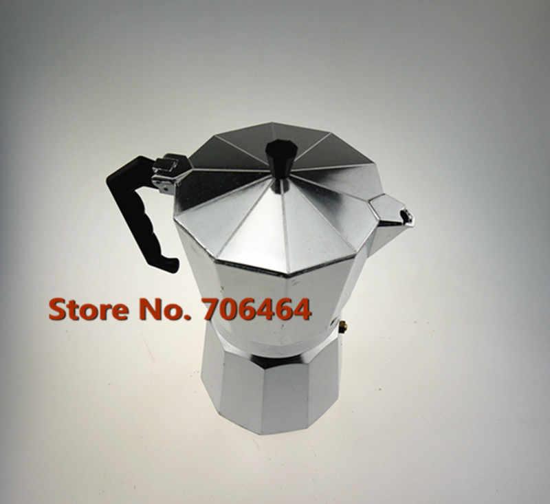 Alluminio 9 tazze di alta qualità moka caffettiera/moka, espresso caffettiera moka caffè vacumm caffettiera