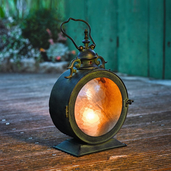 Ground Hanging Wind Model Wrought Iron Candle Holder Home Furnishing Articles Candle Storm Lantern Party Holiday Centerpieces