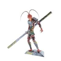 2018 MU 3D Metal Puzzle Monkey King Hero model YM L050 C educational DIY 3D Laser Cut Assemble Jigsaw Toys for kids gift