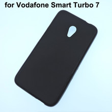 For Vodafone Smart Turbo 7/Prime 7 cell phone protective case funda,Smart Style 7 black color tpu soft back cover(China)