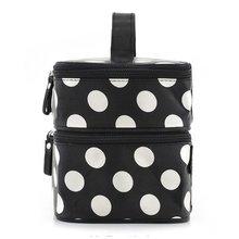 cosmetic make up organizer bag dot