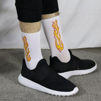 Korea Funky Harajuku Trend Women Checkerboard Socks Geometric Checkered Socks Men Hip Hop Cotton Unisex Streetwear Novelty Socks 10