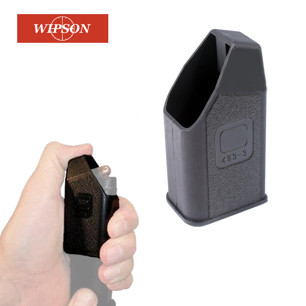 WIPSON New Glock Magazine Ammo Speed Loader For 9mm, .40, .357, .45 GAP Mags Clips Free Shipping