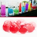 1 Bag  New Water Aqua Crystal Soil Wedding Gel Ball Beads Vase Centerpiece Crystal Soil Water Beads Bio Gel Ball