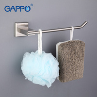 Gappo 1 Set Modern Style Bar Wall Mount Towel Bar Bathroom Accessories Bath Towel Holder Bath