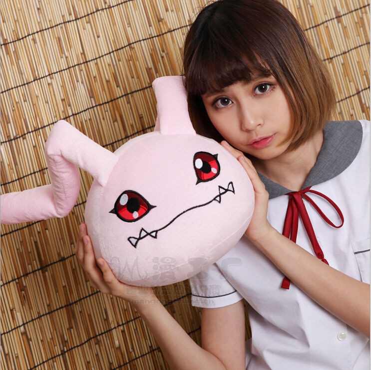 Cute-Anime-Digital-Monster-digimon-soft-Koromon-23cm-plush-toy-Plush-doll-Pillow-Cushion-Gift-Ear