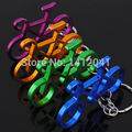 FD1145 Замечательный Красочный Велосипед Металл Брелок Брелок Брелок Брелок ~ Случайное ~ 1 шт.