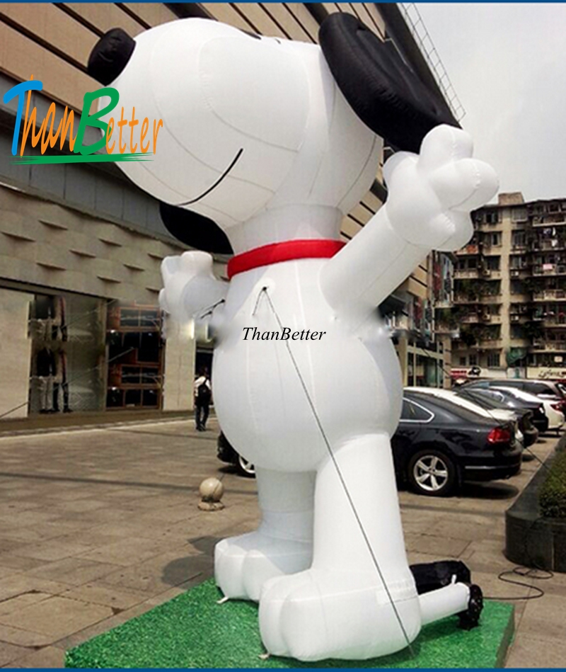 3M custom Hot sale inflatable dog inflatable cartoon, inflatable character balloons for advertising