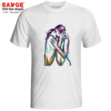 Homo Is Divine T-shirt Ink Watercolor Hand Drawn Design Creative Print T Shirt Funny Skate Anime Women Men Top Tee