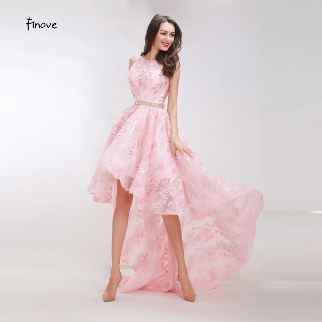 Finove Floral Pattern Prom Dresses New Styles 2018 Elegant A Line ...