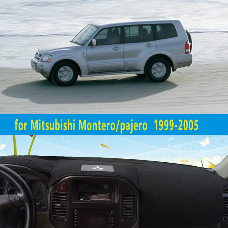 dashmats car styling accessories dashboard cover for Mitsubishi Montero Pajero 3 V77 V75 2000 2001 2002