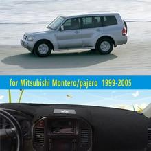 Dashmats car-styling accesorios tablero de instrumentos cubierta para Mitsubishi Montero Pajero 3 V77 V75 2000 2001 2002 2003 2004 2005 2006