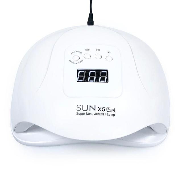 YUJIA Nail Lamp SUNx5 Plus LED Lamp Nail Dryer LCD Display 80W Lamp For manicure Gel Polish Auto Sensor Timer Nail Dryer