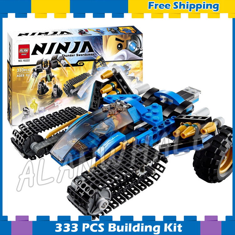 333pcs Bela 10222 Ninja Chariot Thunder Raider Building Blocks sets Bricks Classic Boys toys Compatible With lego movie kazi 608pcs pirates armada flagship building blocks brinquedos caribbean warship sets the black pearl compatible with bricks