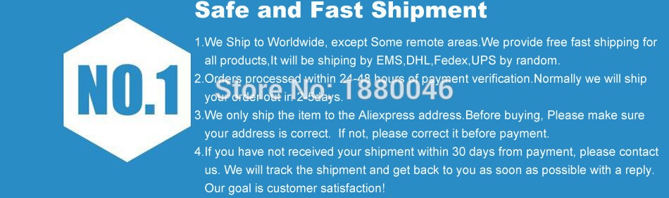 Safe and Fast Shipping
