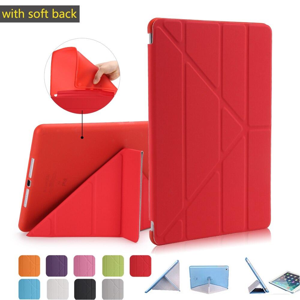 Lepo zaščiteno prožno mehko tpu silikonsko hrbtno torbico za - Dodatki za tablične računalnike - Fotografija 1