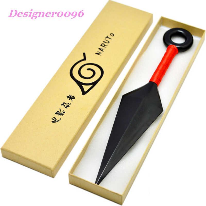 อะนิเมะคอสเพลย์ Naruto Hatake Kakashi ญี่ปุ่น ninja essential อาวุธ Uzumaki Naruto บทบาทเล่น prop 26 ซม.2 สีแดงสีขาว 1:1