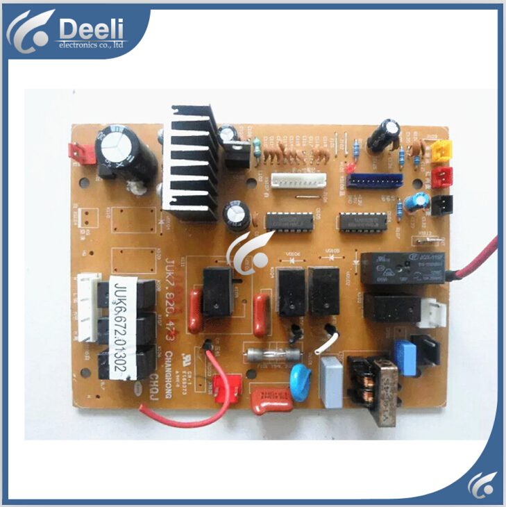 все цены на 95% new good working for Changhong air conditioning motherboard Computer board JUK6.672.01302 JUK7.820.473 good working онлайн
