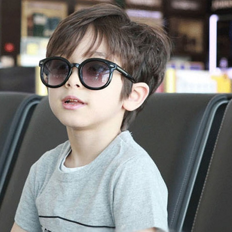 Boy's Glasses Fashion Round Kids Sunglasses Children Sun Glasses Baby Vintage Eyeglasses Girl Cool Uv400 Oculos Infantil De Sol Utmost In Convenience Apparel Accessories