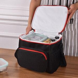 Image 4 - Na zewnątrz camping torba na piknik Ultralight przenośne rodzina koszyk piknikowy chłodnicy pudełka lodu pudełka dla dzieci w szkole torba na lunch piwo lodówka