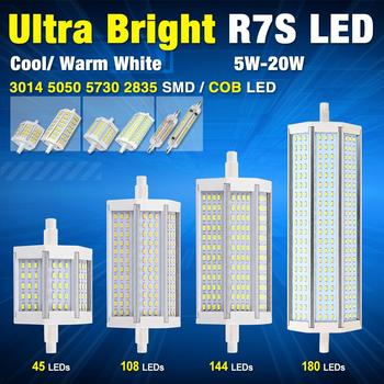 Led R7s 118mm 20w Affordable Rs J W Led Flood Light Cob Leds Mm Led
