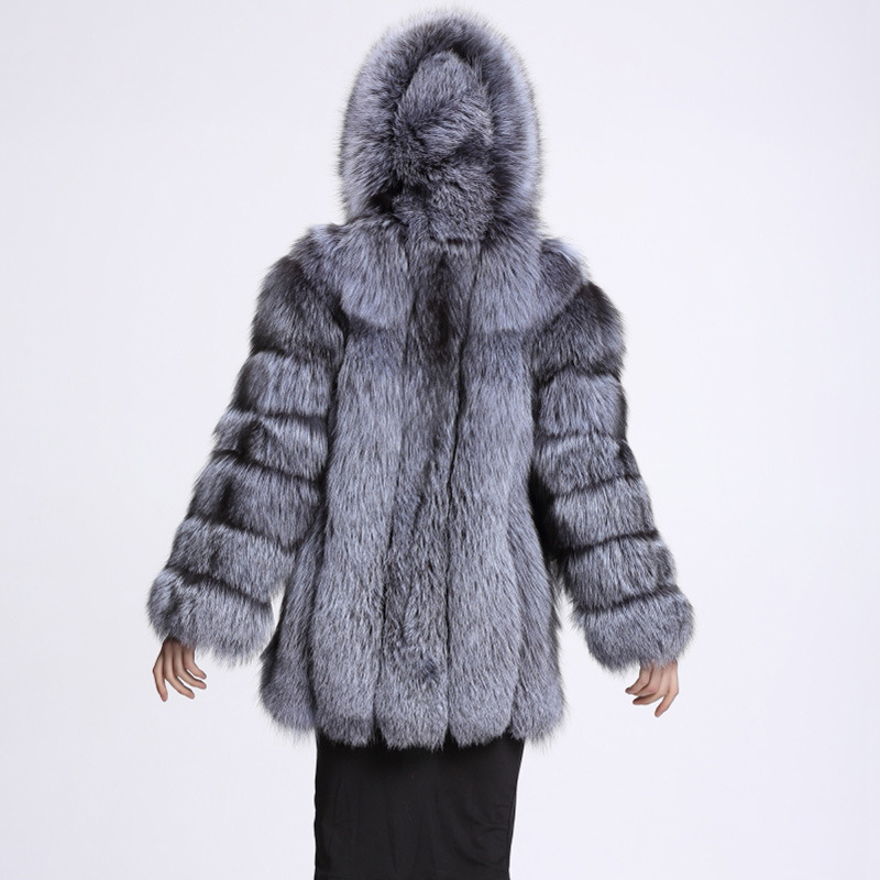 8cad5b5a88144 ... Elegant Long Faux Fur Coat fluffy Jacket 2017 Winter Women Thick Warm  Faux Fur Coats With Hooded White Black Plus Size. Out Of Stock. 🔍  Previous. Next