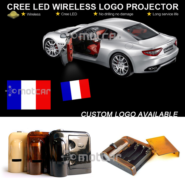 Online Shop Car Welcome Light Battery Projector Laser Philippines