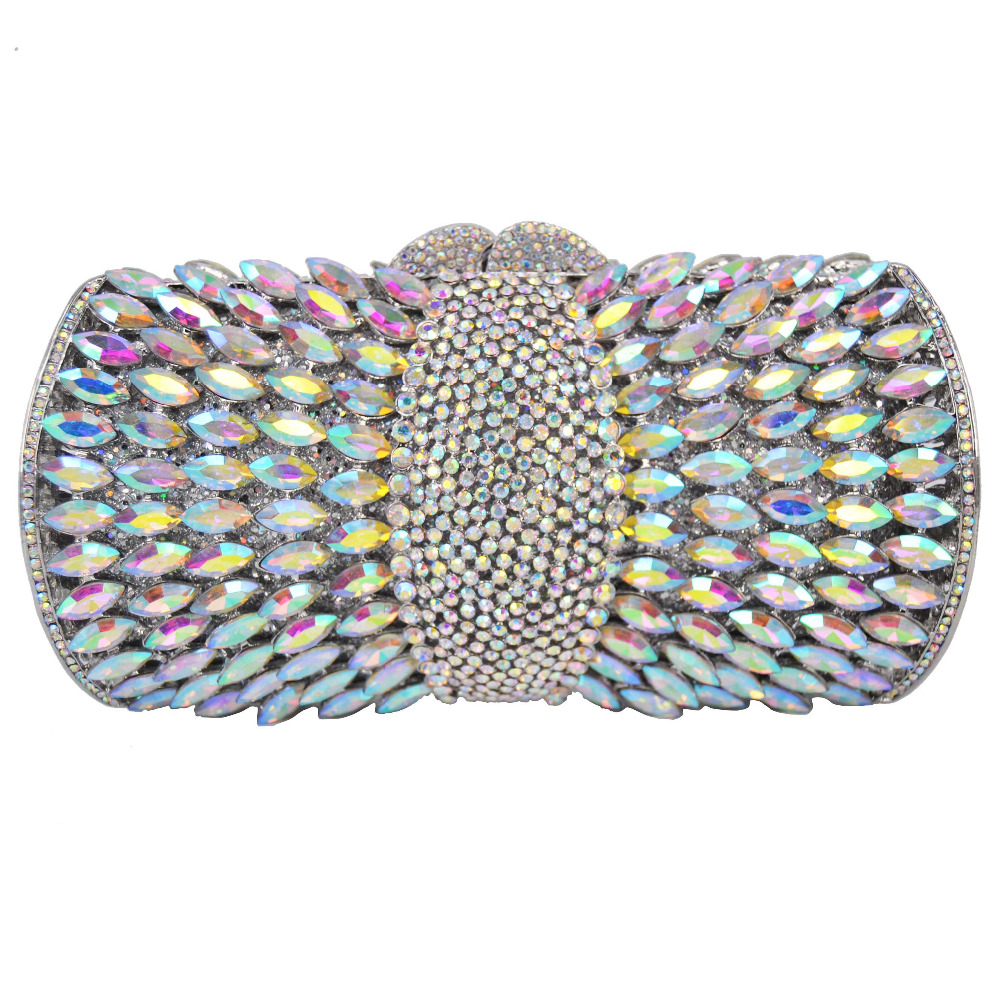 Diamonds Day Evening Bag Women Crystal Bags Clutches Chain Shoulder Bag Purse Party Rhinestone Small Casual Clutch Bag Q55 luxury real new arrival day clutches diamonds flower women bag banquet crystal handbag wedding party handbags night clubs purse