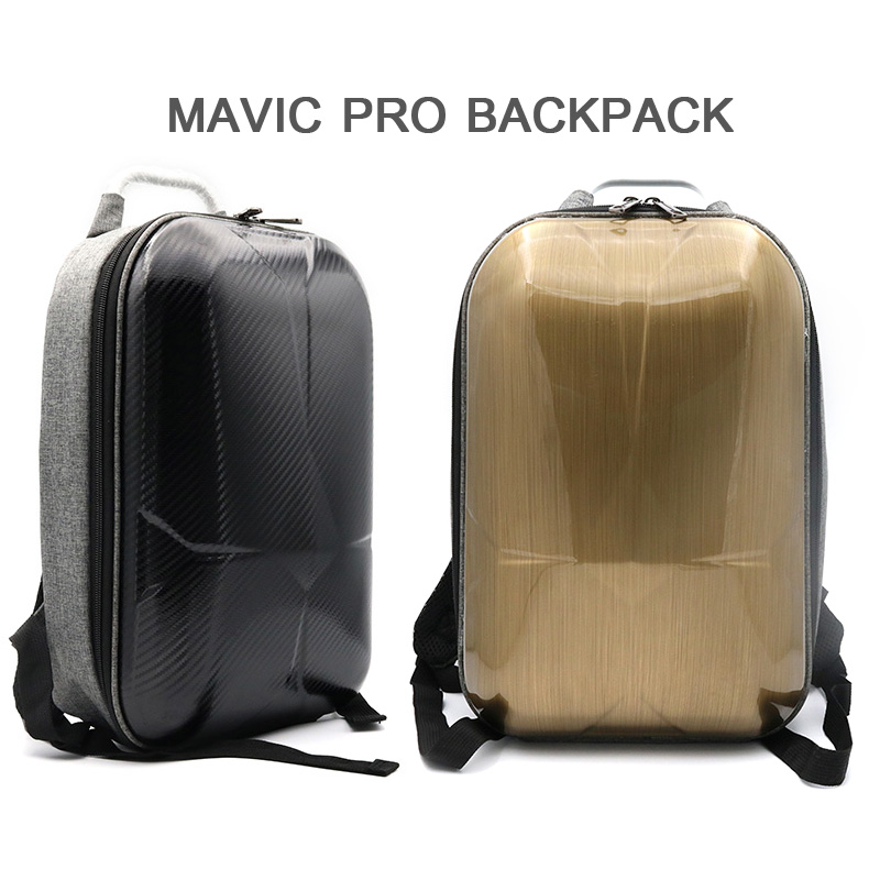 Waterproof HardShell Backpack Case bag Battery charger accessories storage bag for DJI Mavic Pro
