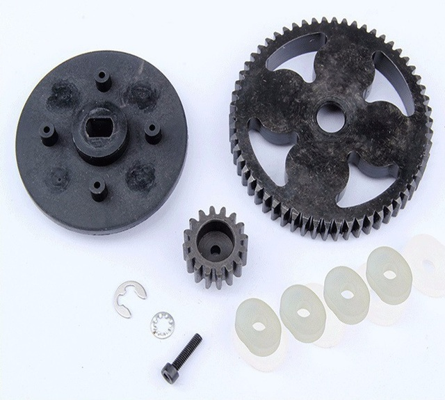 55T / 19T metal high speed gear Kit for 1/5 HPI Rovan Baja 5B 5T 5SC King Motor Buggy rc car gas parts