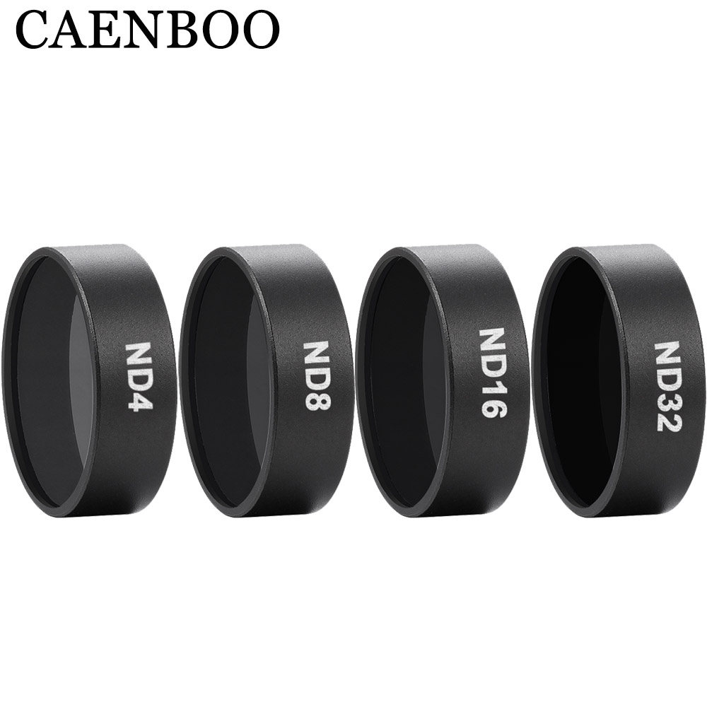 CAENBOO Drone Camera Filters Mavic Air ND 8 16 32 Neutral Density Filter Set ND4 Filter For DJI Mavic Air Drones Accessories