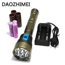 Underwater LED Diving Flashlight 14000 Lumens CREE L2 Under Water 200m Depth Bright LED Light Lamp Flashlight Lamp lanterna