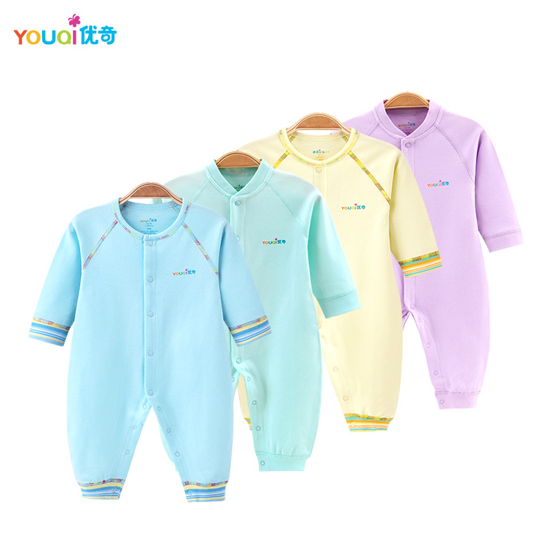 YOUQI Quality Baby Boy Clothes Girl Rompers Unisex Newborn Toddler Infant Costumes 3 6 18M Pajamas Clothing Autumn Baby Clothes baby clothing 2017 new newborn baby boy girl rompers toddler clothes long sleeve infant product autumn winter underwear pajamas