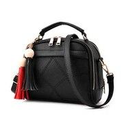 2016 New Women Small Leather Shoulder Bags Girls Crossbody Messenger Bag Ladies Handbag And Purse Femme