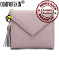 New Arrival Luxury Genuine Leather  Credit Card Holders Fashion Style Card Wallet for Women Factory Price On Sale