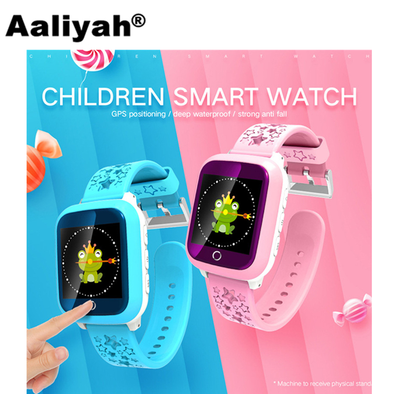Aaliyah New D28 Smart Watches Touch Screen GPS Watch WIFI Positioning SOS Call Monitoring anti-lost for Children Kids PK Q50 Q90 wireless service call bell system popular in restaurant ce passed 433 92mhz full equipment watch pager 1 watch 7 call button