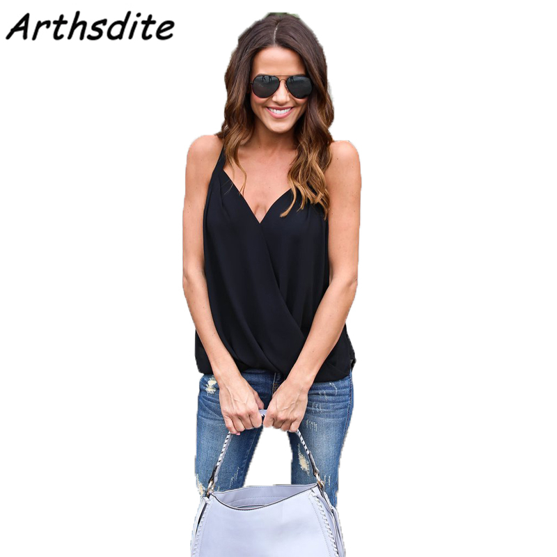 Buy Arthsdite Women Sexy Halter Blouse Black White Casual Shoulder Loose Blusas Club Party Tops Shirts Plus Size Tank 4XL 5XL