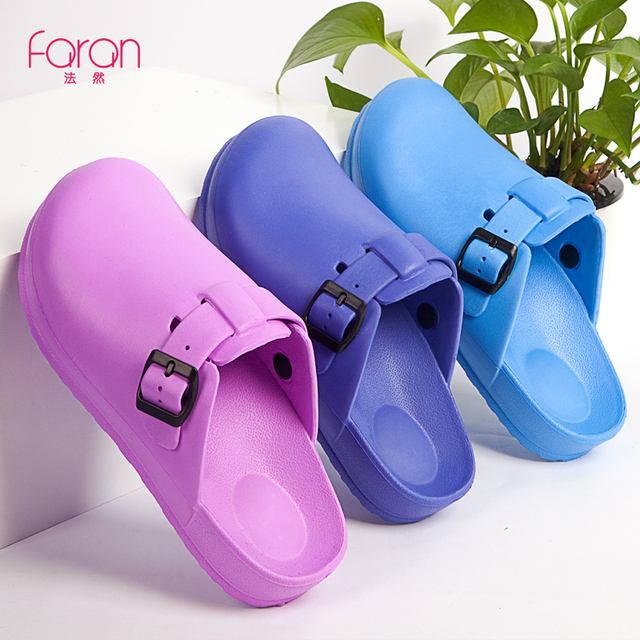 4e6759c4c7a US $21.9 11% OFF|EVA Soft Medical Shoes Clinical Hospital Clogs Slippers  Shoes Man Women Strap Shoes Work Clog Doctor Nurse shoes Flat Footwear-in  ...