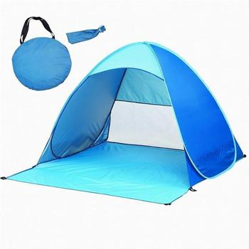 Bambini All'aperto Picnic Protezione UV Tenda Tenda Pieghevole Per Bambini a prova di Pioggia Riparo Pop Up Tende Casa Del Bambino Escursione di Campeggio tenda