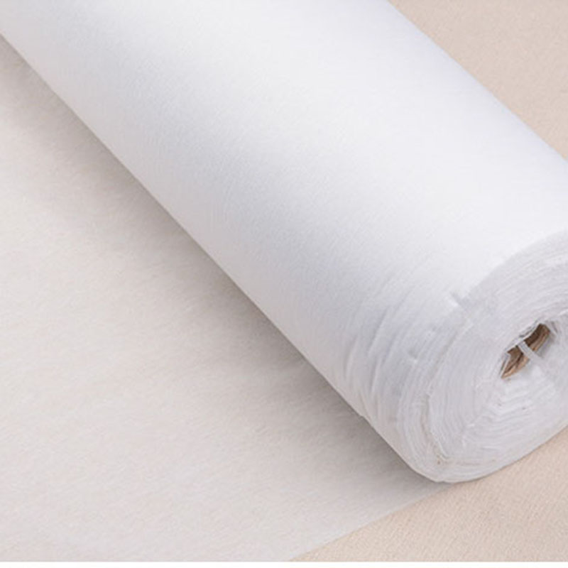 5 Meters/lot (5.4 Yards) Lightweight Non-Woven Fusible Interlining Fabric Apparel Sewing DIY Accessory D30