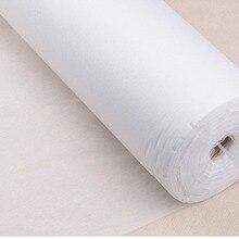 5 м/лот (5,4 ярдов) легкая Нетканая прокладочная Ткань для шитья одежды DIY аксессуары D30