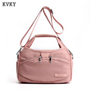 Image 1 - KVKY New Women Shoulder messenger bags Waterproof Oxford Crossbody Bags Tote Female Handbags High Quality Mummy Bolsos