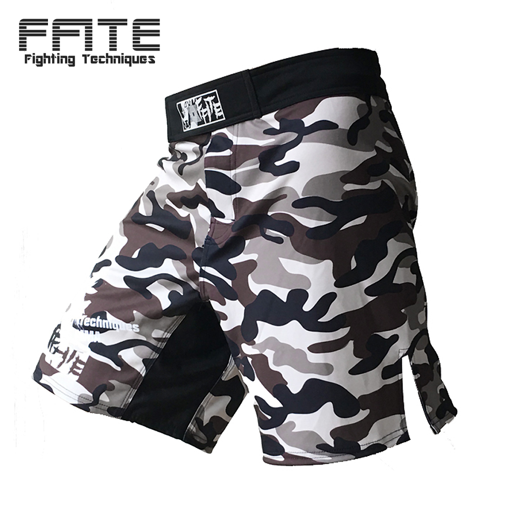 MMA shorts kick boxning muay thai shorts trunks mma billiga män fitness shorts sanda boxe fight slitage grappling mma byxor sport
