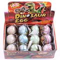 12 unids/set divertidas agua eclosión Dinosaur Egg inflación grietas acuarela Grow huevo juguetes educativos regalo interesante - 50
