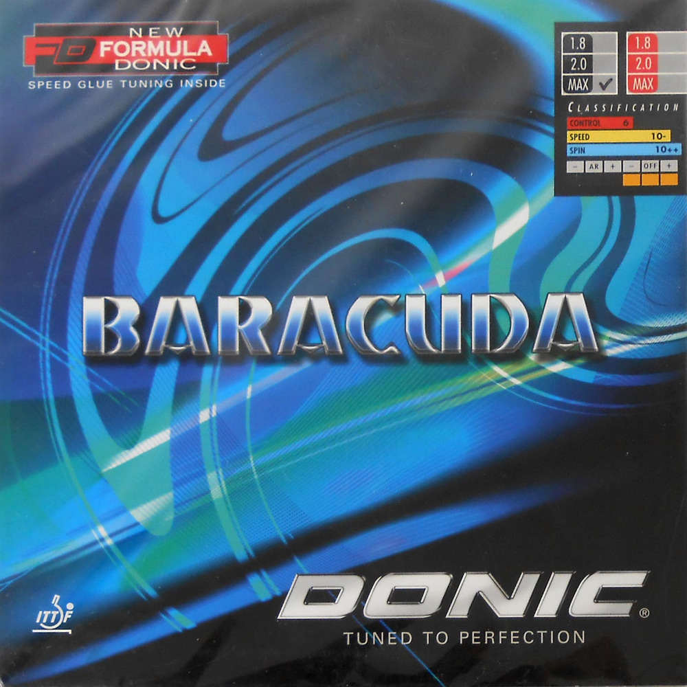 Original Donic BARACUDA (12080#) pips-in table tennis / pingpong rubber with sponge 1x yasaka zap and new era 40mm pips in table tennis pingpong rubber with sponge