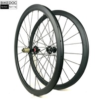 BIKEDOC Carbon Wheels Clincher Road Disc Wheel For 700C Bicycle Wheel Chinese
