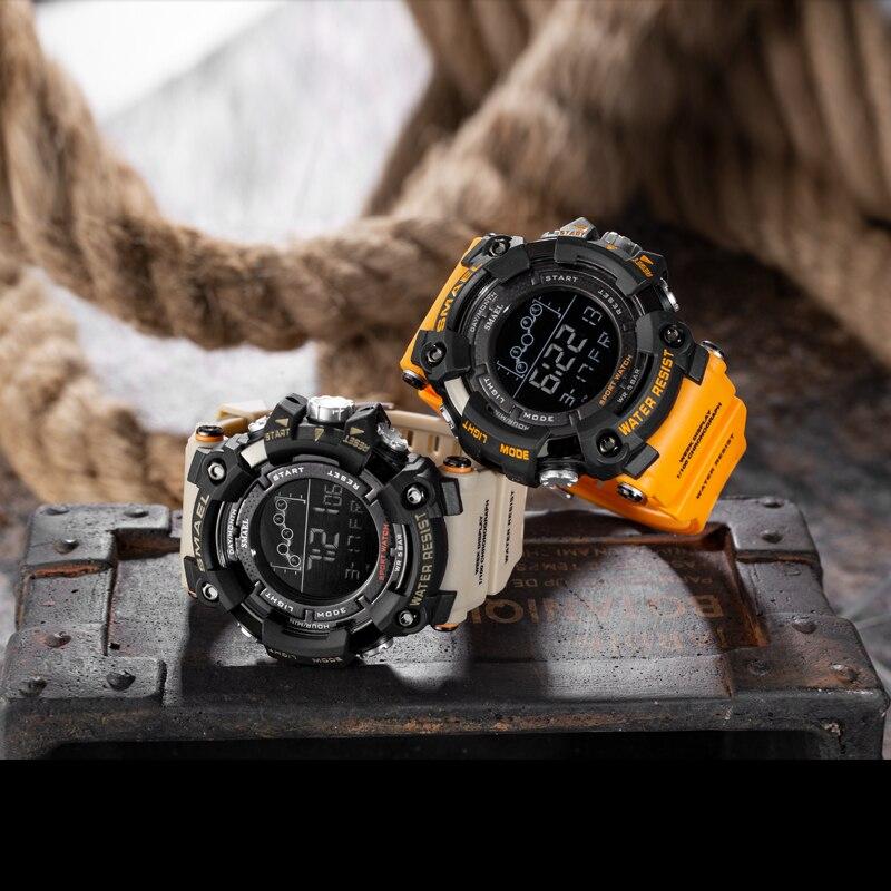 Waterproof Chronograph Digital Watch For Men Fashion Outdoor Sport Wristwatch Top Brand SMAEL Men s Watch Waterproof Chronograph Digital Watch For Men Fashion Outdoor Sport Wristwatch Top Brand SMAEL Men's Watch Alarm Clock