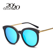 20/20 Round Polarized Sunglasses Women Vintage Brand Designer Shade Glasses For Ladies Gafas Female Retro Oculos 58052